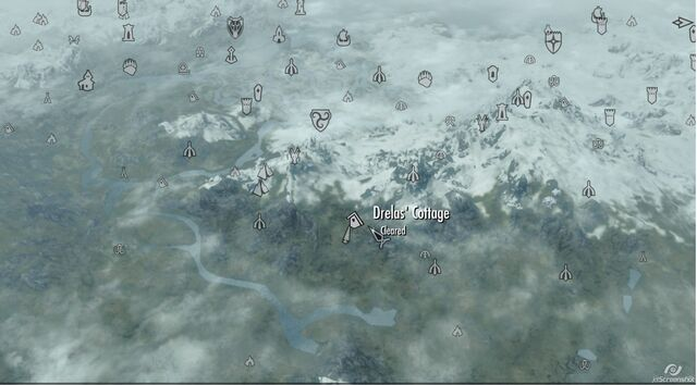 File:Drelas Cottage map skyrim.jpg