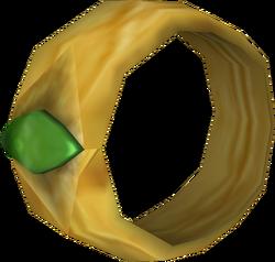 Gold Emerald Ring O
