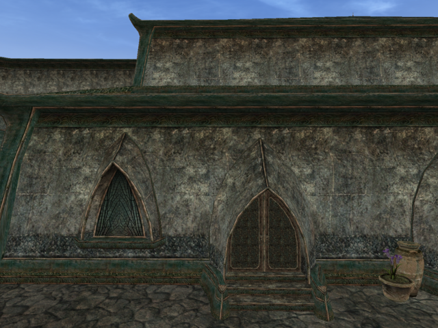 File:Mournhold Great Bazaar Trader Exterior View.png