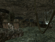 Old Mournhold Temple Crypt Interior Corpse
