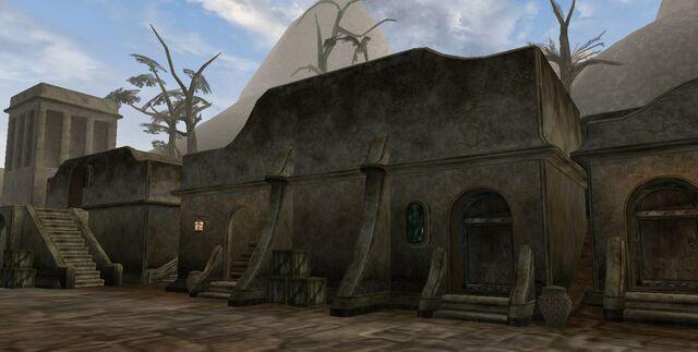 File:TES3 Morrowind - Balmora - Nine Toes' House exterior.jpg