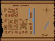 Ebon Wastes full map