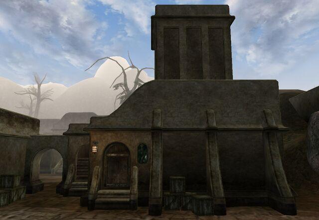 File:TES3 Morrowind - Balmora - Dura gra-Bol's House exterior.jpg