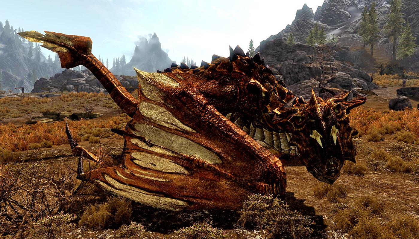 Skyrim Dragon: Elder Dragon (Skyrim)