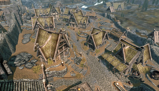 File:The Plains District Whiterun Skyrim.png