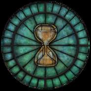Akatosh Stained Glass Circle