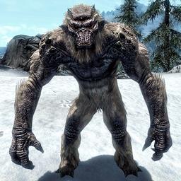Frost Troll Skyrim