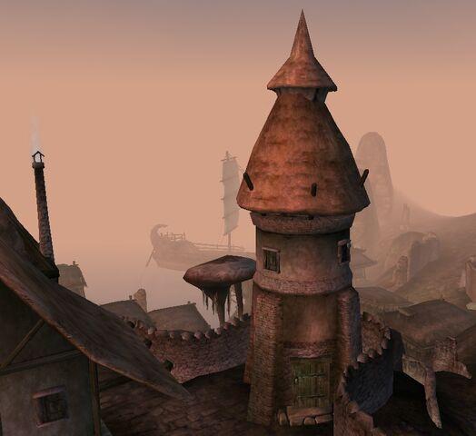 File:TES3 Morrowind - Dagon Fel - Watch Tower exterior.jpg