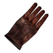 TES3 Morrowind - Glove - Common Right Glove