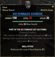 Ice Furnace - Cuirass 30