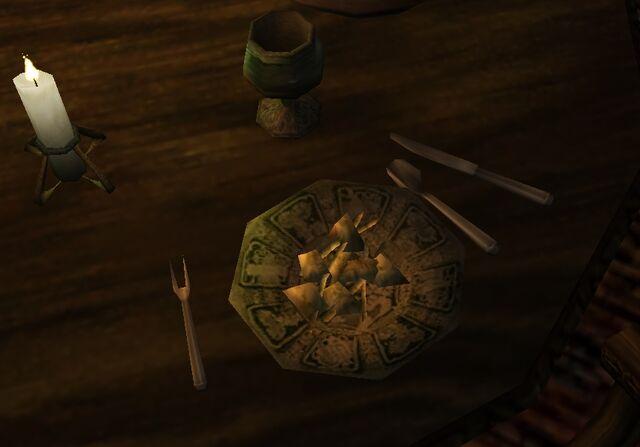 File:TES3 Morrowind - Item-Ingredient - Crab Meat on plate.jpg