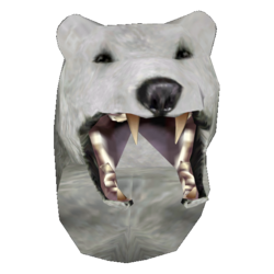 Snow Bear Helmet