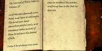 The Journal of Ralis Sedarys - Volume 23