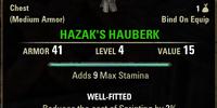 Hazak's Hauberk