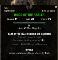 Healers Habit - Hood 28
