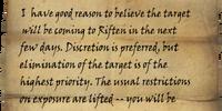Shavari's Note