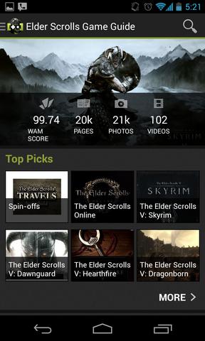 File:Elder Scrolls App Screenshot.png