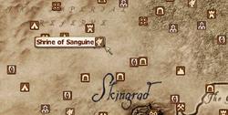 Shrine of Sanguine MapLocation