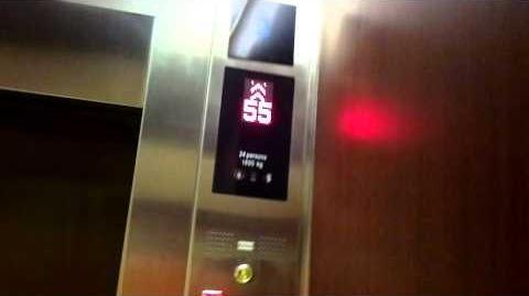 CentaraGrand at CentralWorld, Bangkok Kone Traction Hotel Elevators - Retake 1
