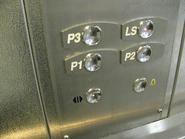OTIS 2000 Buttons (Vandal-resistant)