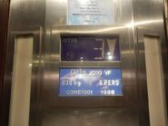 OTIS2000VF indicator