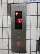 OTIS digital indicator Dewhurst Hall
