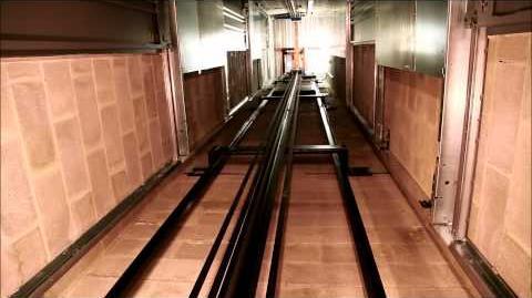 Otis Gen2 Machine Room-less (MRL) Elevator Surfing