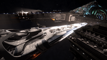 Docked Interdictor Repair