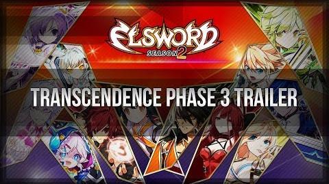 Elsword Official - Transcendence Phase 3 Trailer (Action Version)