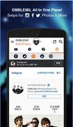 Emblem3 app screenshot 3
