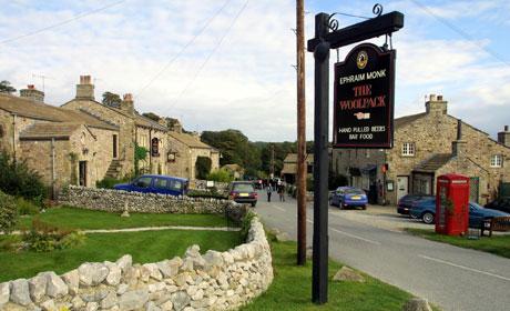Image result for emmerdale village
