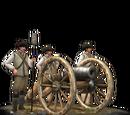24-lber Howitzer Foot Artillery