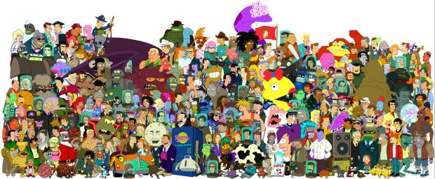 620px-Futurama-cast