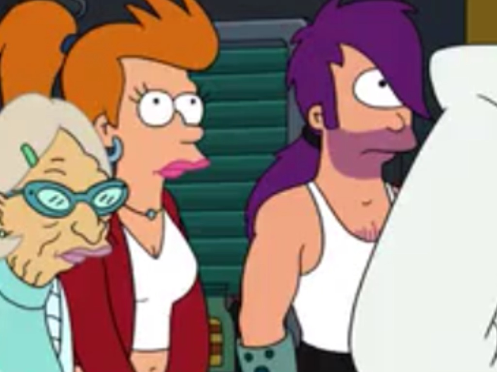 Futurama Leela And Fry Start Hookup