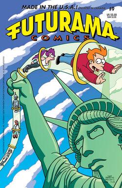 Futurama-09-Cover