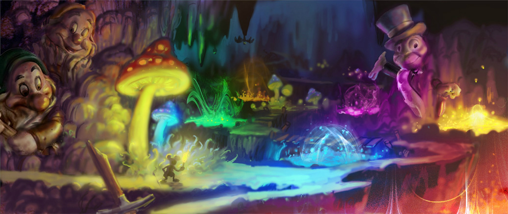 Image result for the art of epic mickey