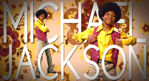 Michael Jackson Title Card