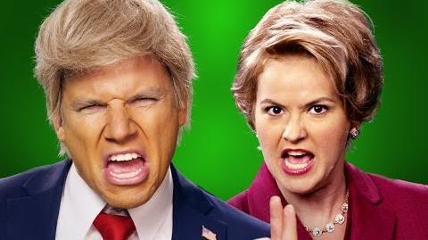 Donald Trump vs Hillary Clinton - ERB Behind the Scenes