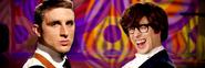 James Bond vs Austin Powers Banner