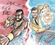Mr. T vs Mr. Rogers Drawing