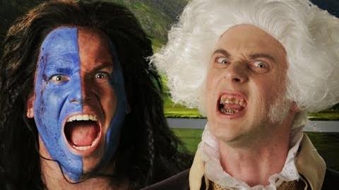 George Washington vs William Wallace. Epic Rap Battles of History Season 3