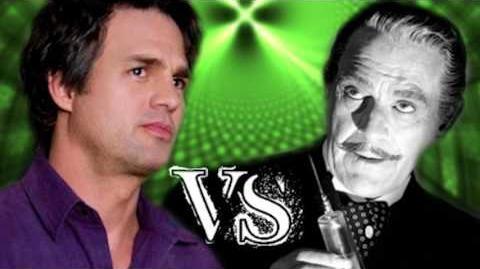 Bruce Banner vs Dr. Jekyll