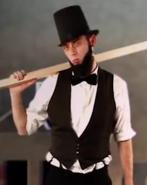 Abe Lincoln Cameo Lewis and Clark vs Bill and Ted