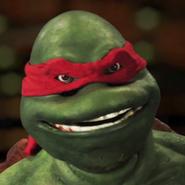 Raphael (Turtle) In Battle