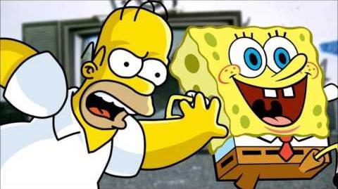 The Simpsons vs SpongeBob SquarePants. Epic Rap Battles of Series