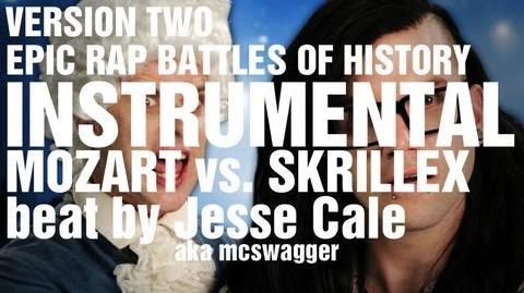 Mozart vs. Skrillex. Epic Rap Battles of History Season 2 - INSTRUMENTAL V