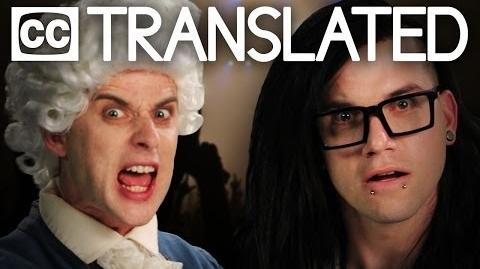 TRANSLATED Mozart vs Skrillex. Epic Rap Battles of History