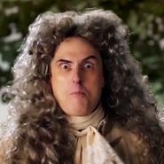 Isaac Newton In Battle