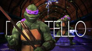 Donatello (Turtle) Title Card