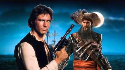 Blackbeard vs Han Solo. Star Wars vs History Premiere.-0